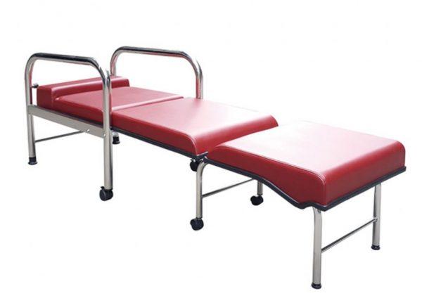 YH017 坐臥兩用陪伴床椅(不鏽鋼)